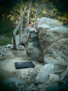 Rock Climbing Photo: V1 Route