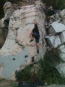 Rock Climbing Photo: A V0 Route