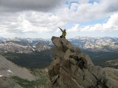 Rock Climbing Photo: In alpine ventures, good to have someone along who...