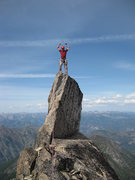 Rock Climbing Photo: Me on top of Chianti Spire