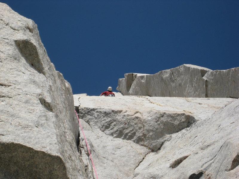 Rock Climbing Photo: last pitch of Positive vibes.. amazing hands split...