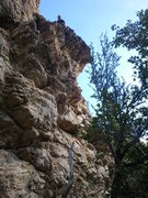 Rock Climbing Photo: A view of Boiler Maker. Matt F is at the top with ...