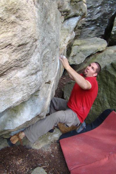 Rock Climbing Photo: Bouldering at Grandmother