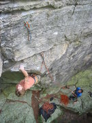 Rock Climbing Photo: Andy on Kingdom Come.