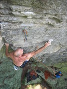 Rock Climbing Photo: Mr Mix on Kingdom Come.
