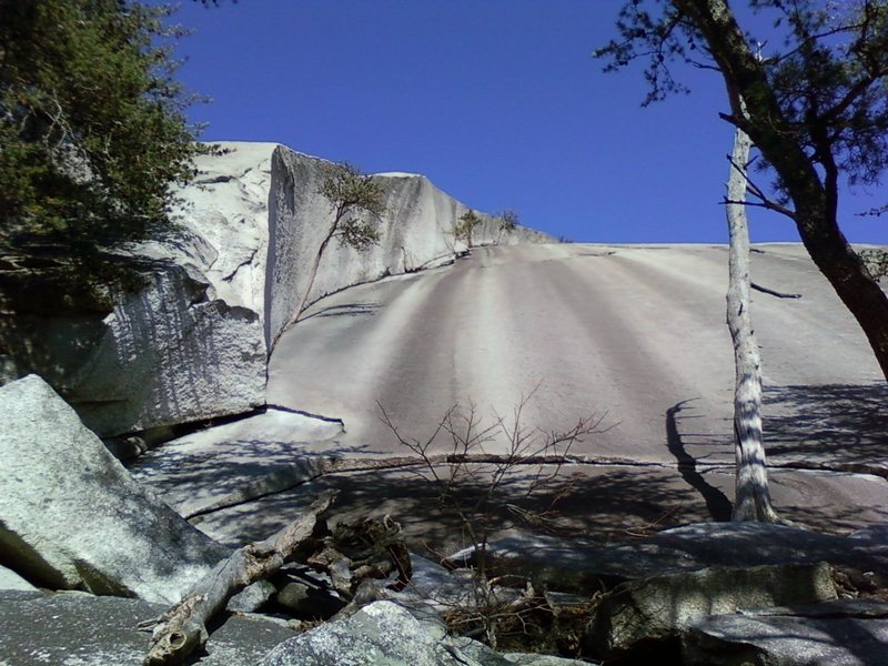 The Great Arch, Stone Mountain, NC (2010).