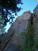 "Rock Climbing Photo: North side of Author's Tower, ""Daniel Quinn,&..."