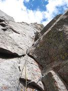 Rock Climbing Photo: Pitch 3 corner.