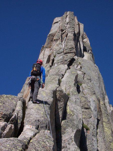 Rock Climbing Photo: the sidewalk