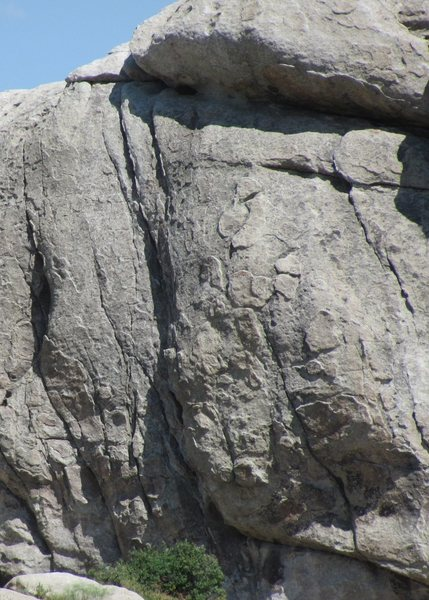 Closeup by telephoto of First Lead, 5.6.