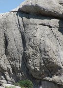 Rock Climbing Photo: Closeup by telephoto of First Lead, 5.6.