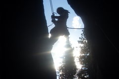 Rock Climbing Photo: west end of sunshine wall land of the shorties per...