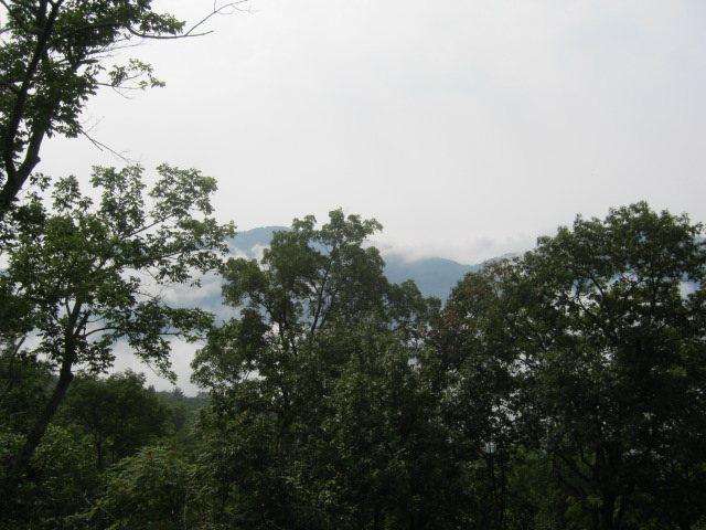 Bushwhack up past boulder to reach rewarding view...
