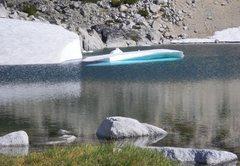 Rock Climbing Photo: Iceberg near Prusik Pass