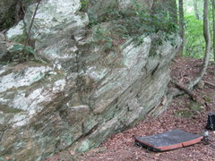 Rock Climbing Photo: sit start near left end of picture.