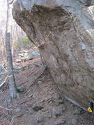 Rock Climbing Photo: Other view of large boulder area separate from mai...