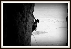 Rock Climbing Photo: Kirsty Ewer leading The Troll