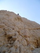 Rock Climbing Photo: Brian leading Hollow Laugh.