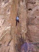 Rock Climbing Photo: Bob's Buttress Crack, Garden of the Gods, Spring 2...
