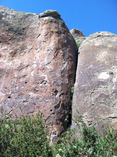 Rock Climbing Photo: Very fun climb on good huecos and good crimps.