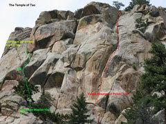 Rock Climbing Photo: This shows Vulagar Display of Power as well as a b...