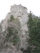 Rock Climbing Photo: At the bottom, Rick and Ben are at the belay ancho...