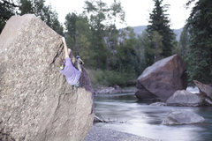 Rock Climbing Photo: Nick Broeder having fun with long exposures and fl...