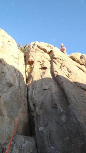 Rock Climbing Photo: Dimrill Stair 5.8+ TD, TR