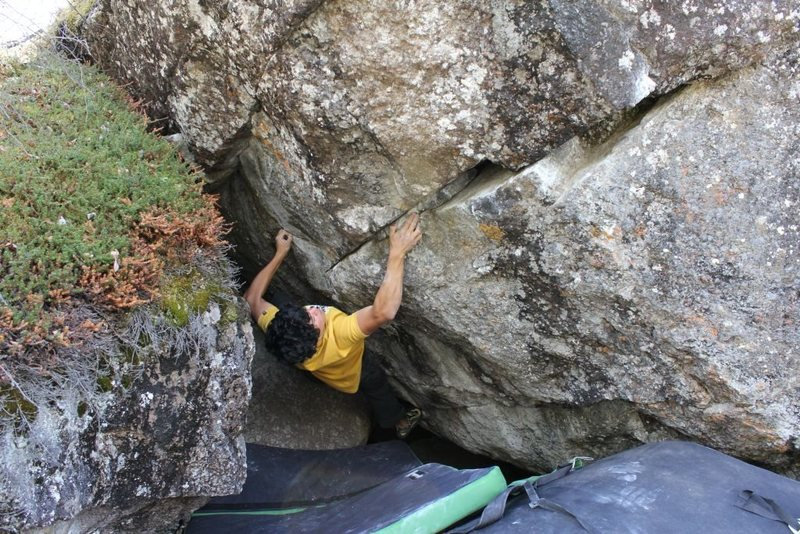Dave Funatake on Bear Rape V5/6