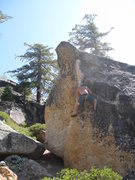 Rock Climbing Photo: sweet arete moves and nice and tall