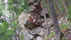 Rock Climbing Photo: skyline project- fun tall climb with a dangerous f...