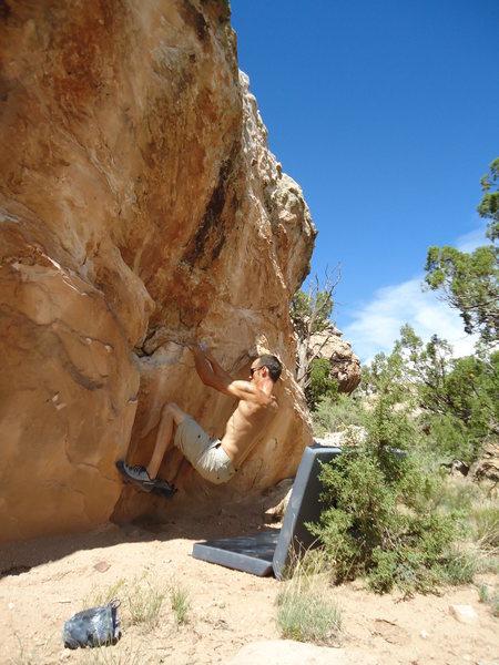 Rock Climbing Photo: Bouldering near A.E.C.