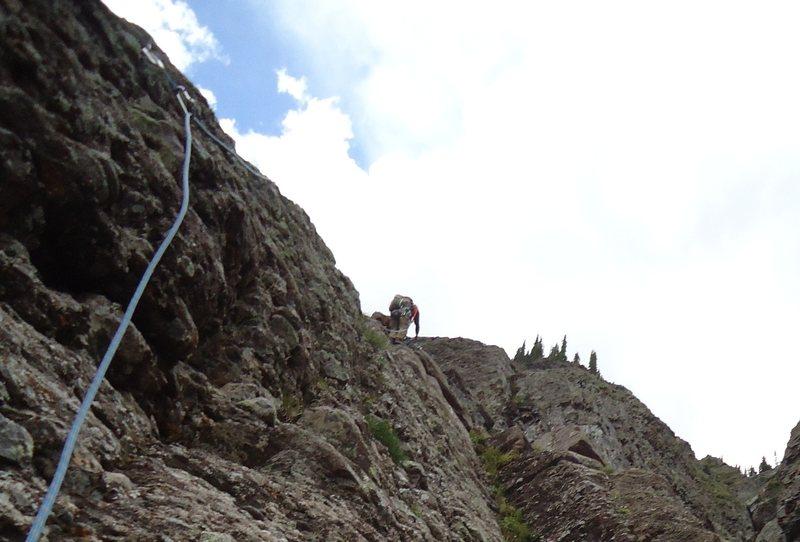 Rock Climbing Photo: Family Values Telluride