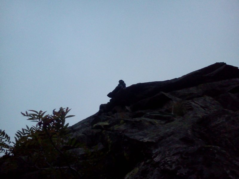 Rock Climbing Photo: Bradley White on the first ascent of 'No Guts, No ...