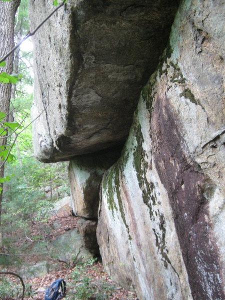 main cliff area..