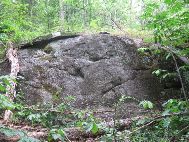 Rock Climbing Photo: one of first bouldering walls reach when heading u...