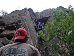 Rock Climbing Photo: Zach V on TR