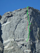 Rock Climbing Photo: Seems like everyone does the top half slightly dif...