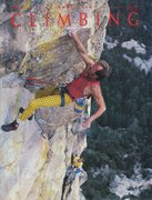 Rock Climbing Photo: Jim Waugh on the 3rd pitch (5.11c) of Ma'adim,...