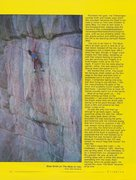 Rock Climbing Photo: Brad Smith on The Mule (5.12b), Mt. Lemmon. Photo ...