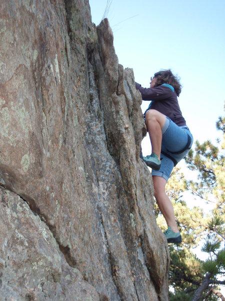 Rock Climbing Photo: Linda.