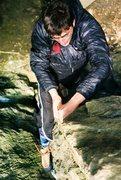 Rock Climbing Photo: A strange angle... Credit to Sam Brotherton for th...