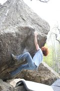 Rock Climbing Photo: Drew Crowther on Point Hope