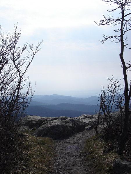 Hightop Mtn view area.