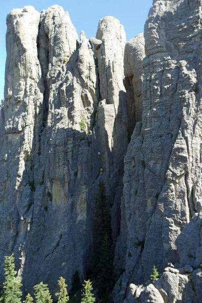 Rock Climbing Photo: Jeff J. and Sam S. on the Great Northwest Dihedral...