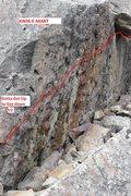 Rock Climbing Photo: Gotta Get Up To Get Down (V2).