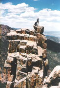 Rock Climbing Photo: Top of the Martyr in Colorado Springs