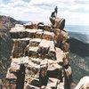 Top of the Martyr in Colorado Springs