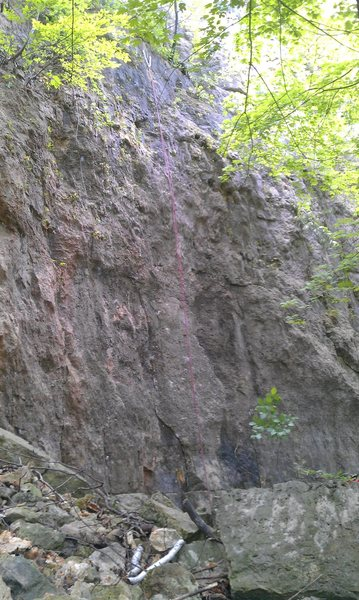 Rock Climbing Photo: Quick Draw Moves to Hollywood 5.11b