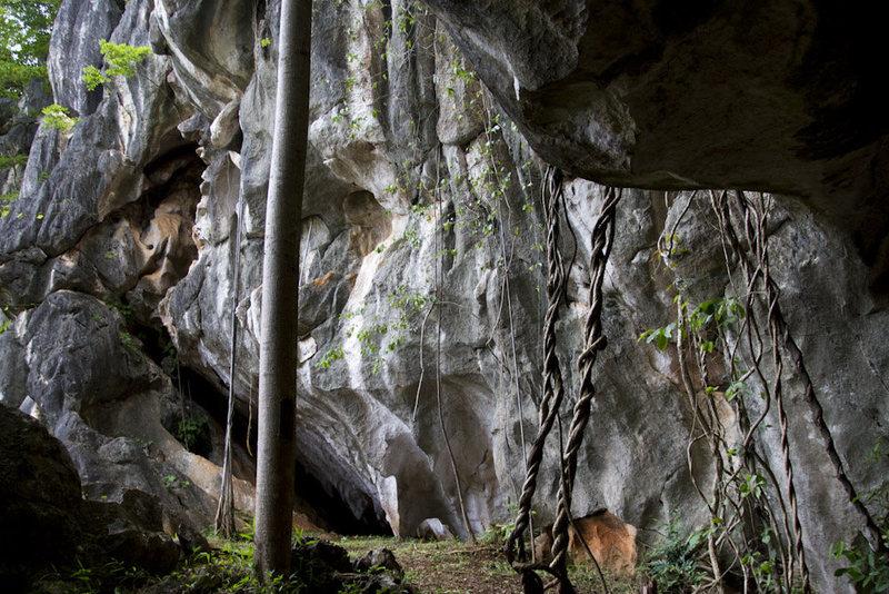 Rock garden, eastern Thailand, great short climbs and bouldering.